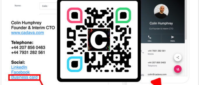 Cool QR Code