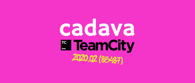 www.cadava.com:technonlogy.update, Cadava upgrades, Our TeamCity servers to version 2020.2 build 85457